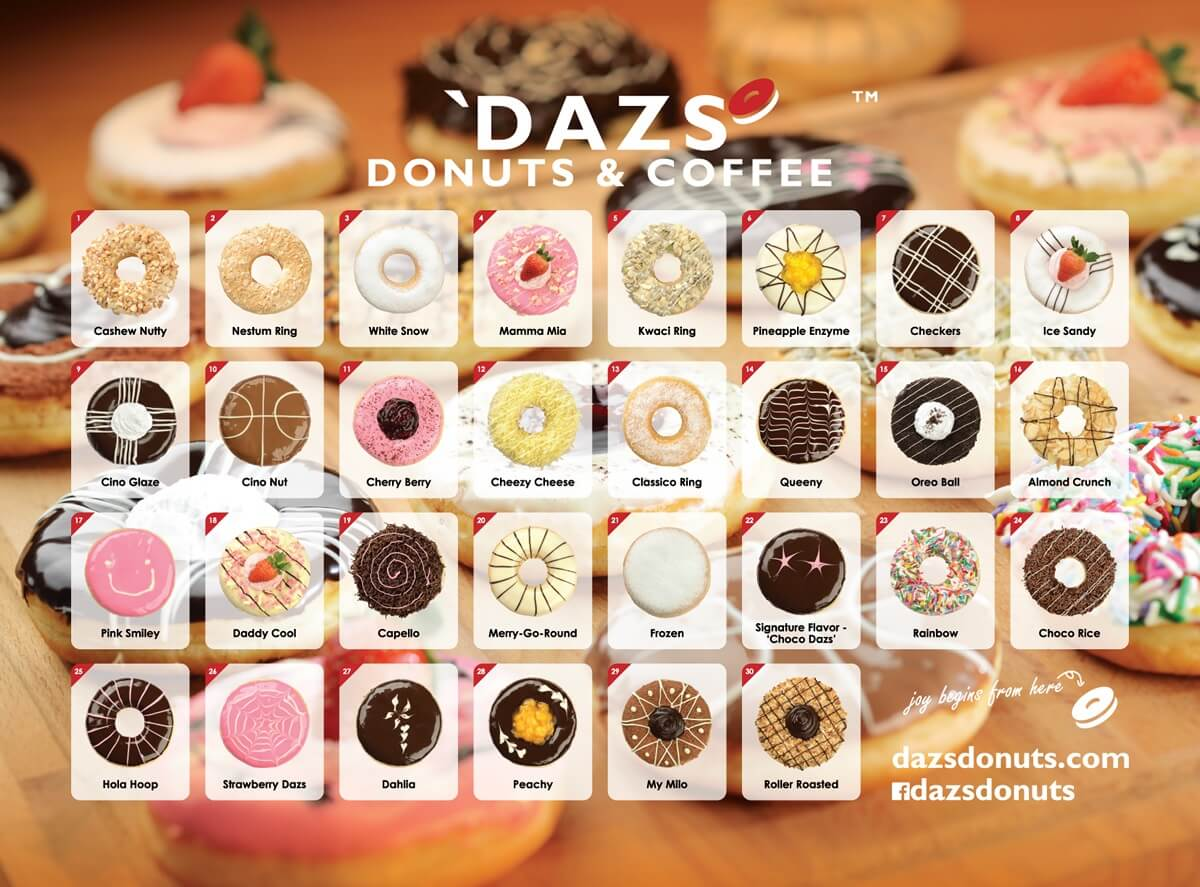 Join Dazs Donuts & Coffee