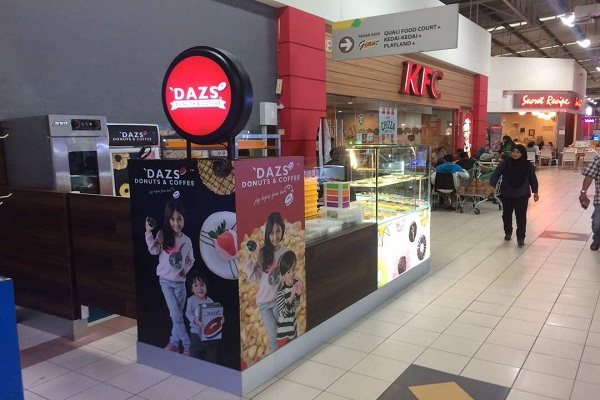 'DAZS DONUTS & COFFEE @ BATU CAVES