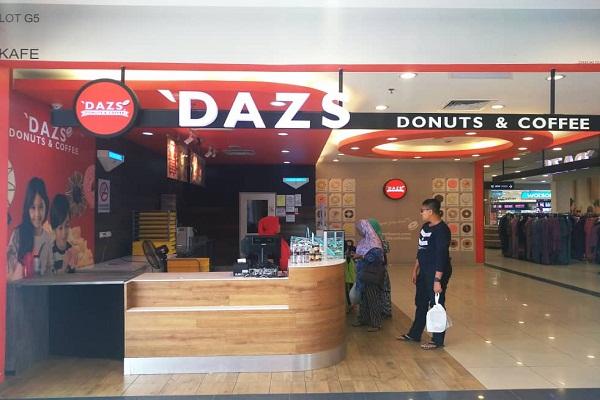 'DAZS DONUTS & COFFEE @ Tesco Bahau