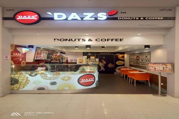 'DAZS DONUTS & COFFEE @ Tesco Melaka