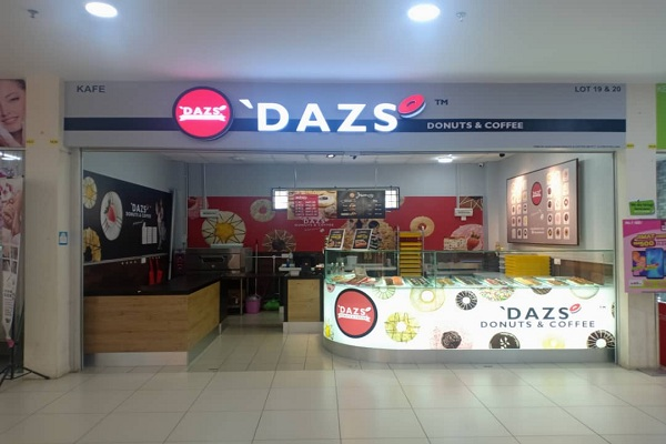 'DAZS DONUTS & COFFEE @ TF MUAR