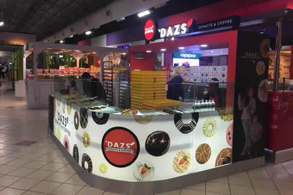 'DAZS DONUTS & COFFEE @ Mydin Senawang